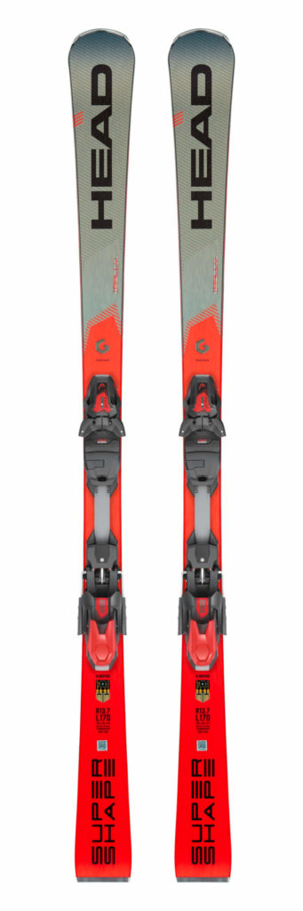 Head Supershape i.Rally Skis with PRD 12 GW Bindings 2019-20 at Northern Ski Works