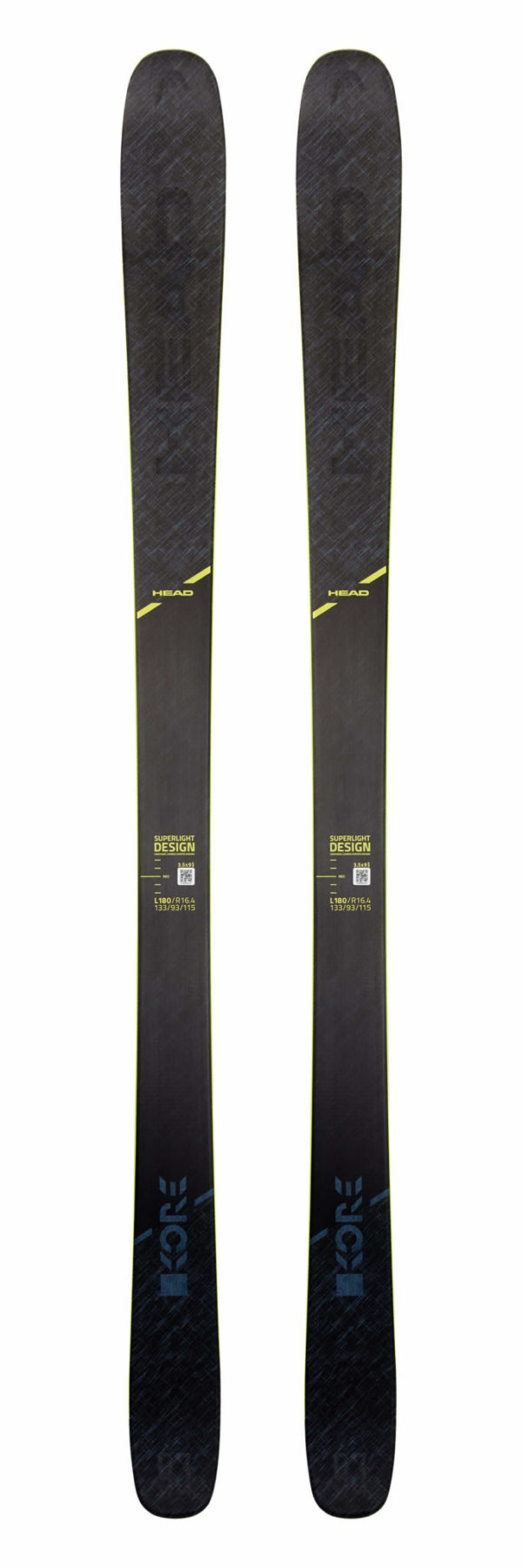 Head Kore 93 Skis (Flat) 2019-20 at Northern Ski Works