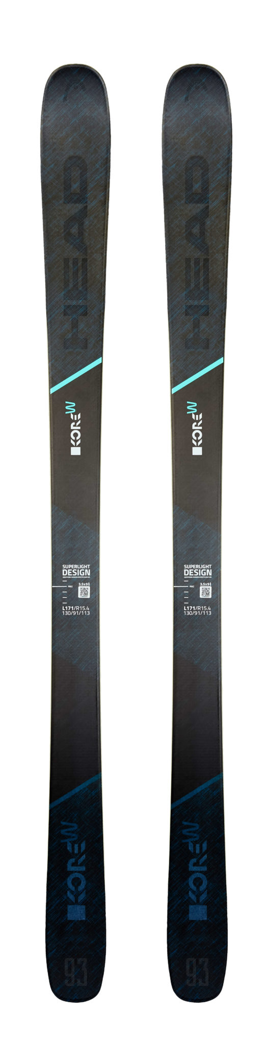 Head Kore 93W Women's Skis (Flat) 2019-20 at Northern Ski Works