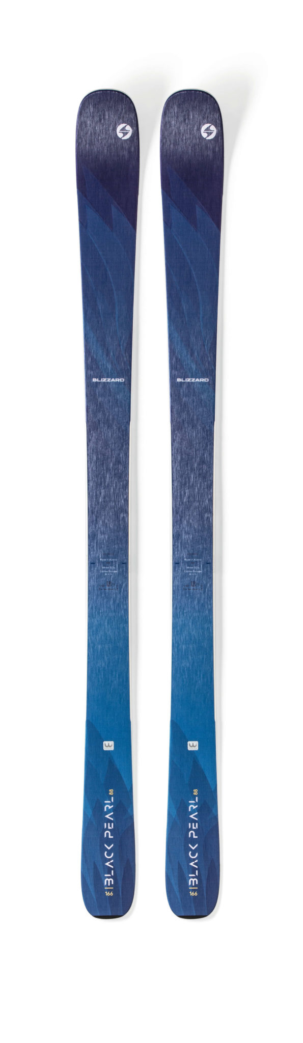 Blizzard Black Pearl 88 Skis (Flat) 2019-20 at Northern Ski Works