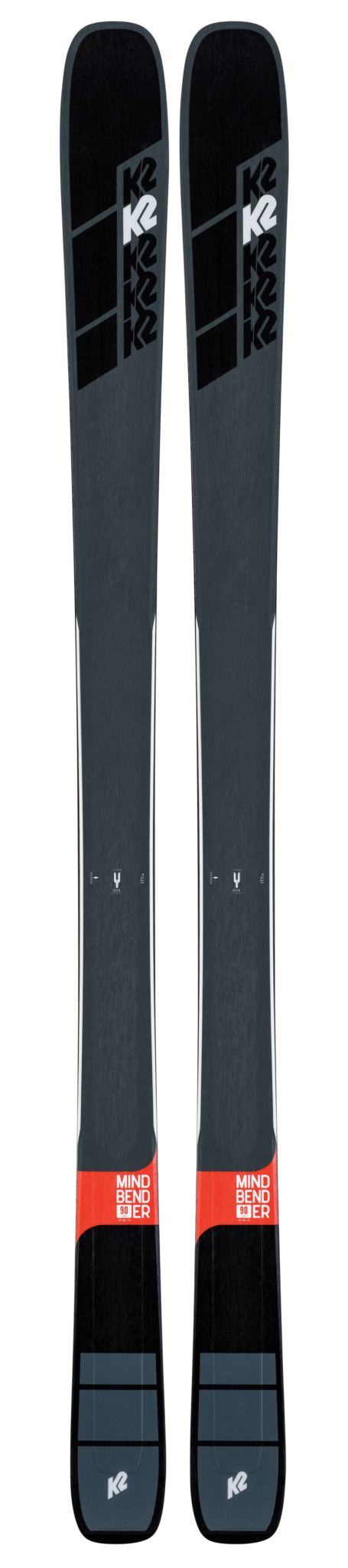 K2 Mindbender 90 Ti Skis (Flat) 2019-20 at Northern Ski Works