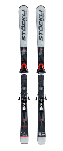 Stockli Laser SC Skis D20 Plate with Salomon MC11 FT80 Bindings 2019-20 at Northern Ski Works