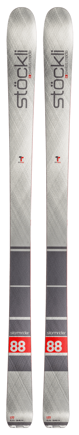 Stockli Stormrider 88 Skis (Flat) 2019-20 at Northern Ski Works 1
