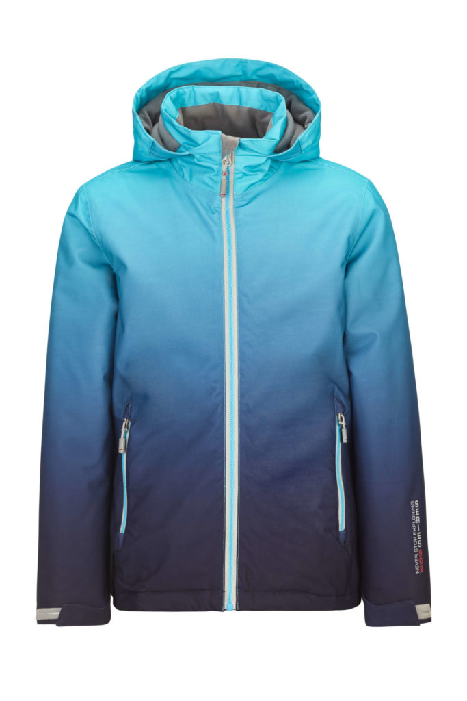 Killtec Girl's Grenda Jr Function Jacket with Hood - Turquoise, 10 Jr 2019-20 at Northern Ski Works