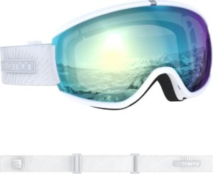 Salomon Ivy Photo Sigma Goggles (White/AW Sky Blue) 2019-20 at Northern Ski Works