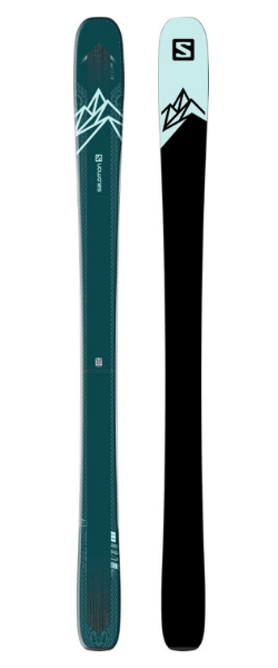 Salomon QST Lux 92 Women's Skis (Flat) 2019-20 at Northern Ski Works