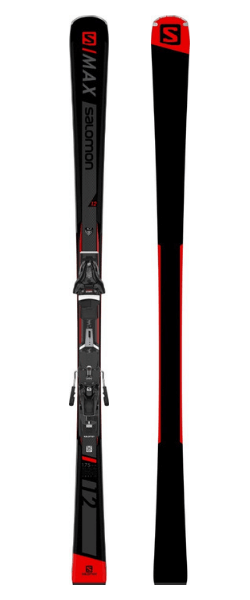 Salomon S/Max 12 Skis w/ Z12 GW F80 Bindings 2019-20 at Northern Ski Works