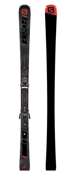 Salomon S/Force 11 Skis w/ Z12 FW F80 Bindings 2019-20 at Northern Ski Works
