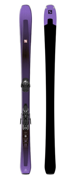 Salomon Aria 84 Ti Women's Skis (Flat) 2019-20 at Northern Ski Works