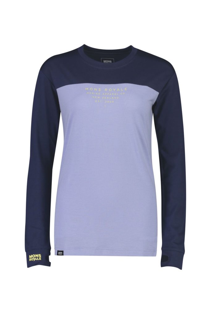 Mons Royale Women's Yotei BF Tech Long Sleeve Top 2019-20 at Northern Ski Works