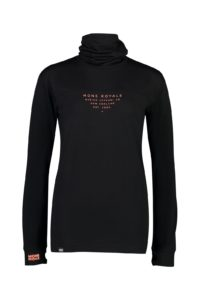 Mons Royale Women's Yotei BF High Neck Top 2019-20 at Northern Ski Works