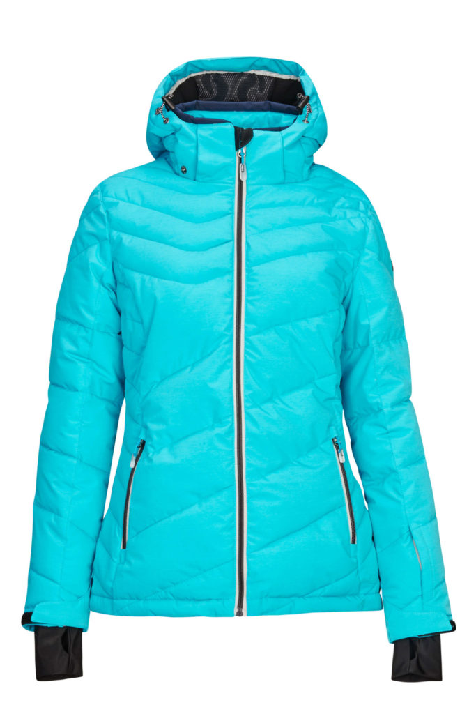 Killtec Women's Ocisa Jacket, Down-Look, Zip-Off Hood, Snowcatcher 2019-20 at Northern Ski Works