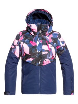 Roxy Girl's Frozen Flow Snow Jacket 2019-20 at Northern Ski Works