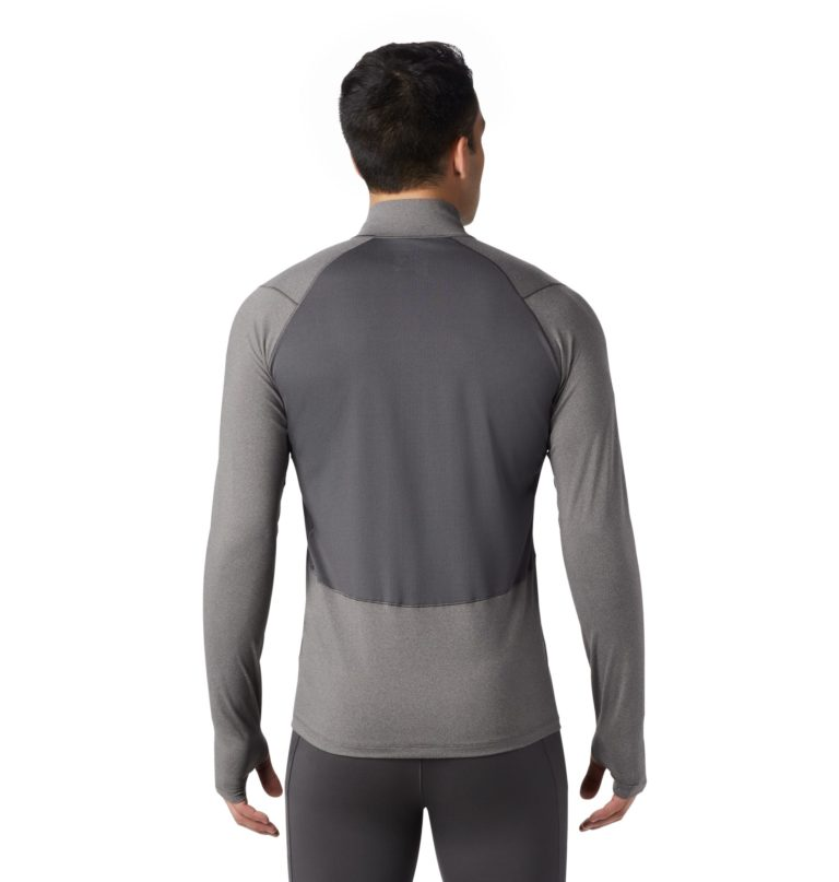 Mountain Hardwear Men's Ghee Long Sleeve 1/2 Zip Top 2019-20 at Northern Ski Works 3