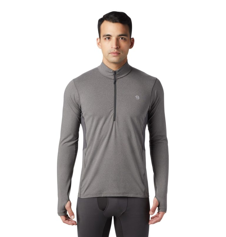 Mountain Hardwear Men's Ghee Long Sleeve 1/2 Zip Top 2019-20 at Northern Ski Works