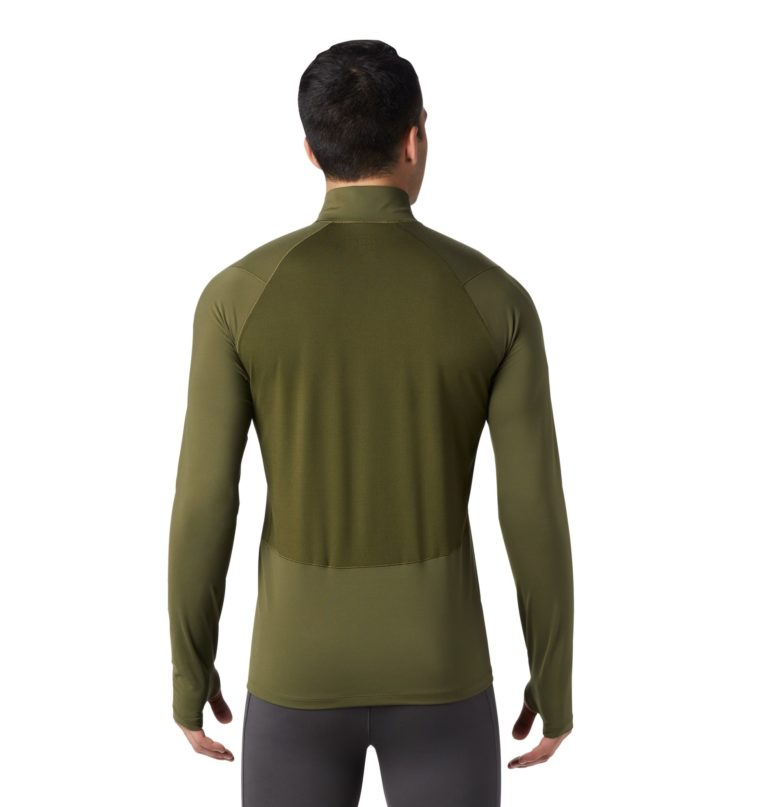 Mountain Hardwear Men's Ghee Long Sleeve 1/2 Zip Top 2019-20 at Northern Ski Works 1