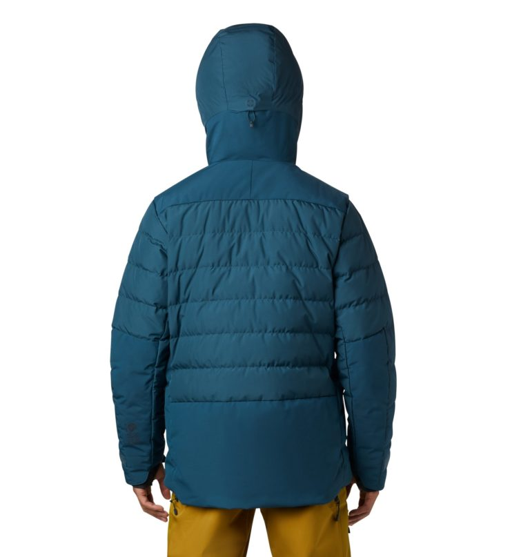 Mountain Hardwear Men's Dir Nrth Gore Wind Stopper Down Jacket - Icelandic 2019-20 at Northern Ski Works 3