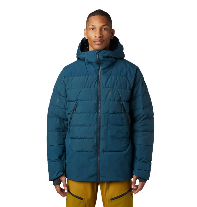 Mountain Hardwear Men's Dir Nrth Gore Wind Stopper Down Jacket - Icelandic 2019-20 at Northern Ski Works