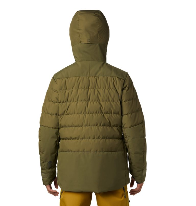 Mountain Hardwear Men's Dir Nrth Gore Wind Stopper Down Jacket - Icelandic 2019-20 at Northern Ski Works 1