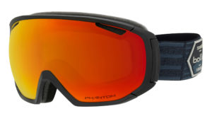 Bolle Tsar Goggles (Matte Black Patch/Phantom Fire Red) 2019-20 at Northern Ski Works