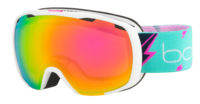 Bolle Royal Goggles (Matte White Flash/Rose Gold) 2019-20 at Northern Ski Works