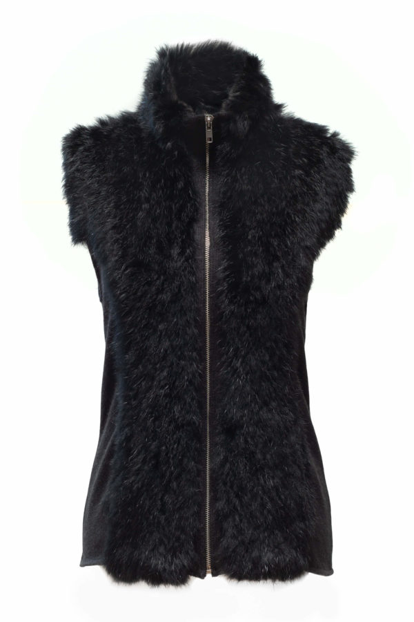 Skea Women's Bhuel Vest (Real Rabbit Fur) 2019-20 at Northern Ski Works