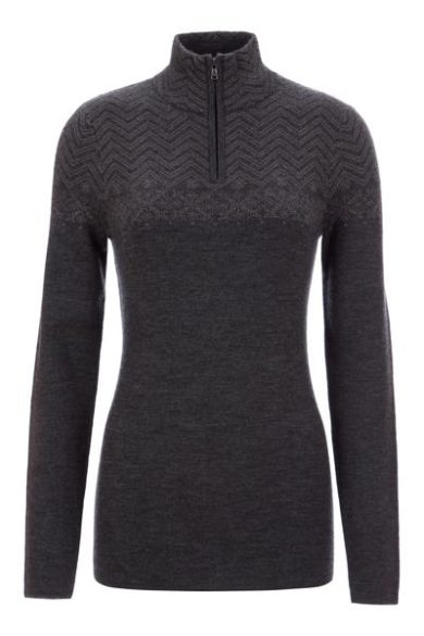 Meister Women's Felicity Sweater - Charcoal/Pewter, Small 2020-21 at Northern Ski Works