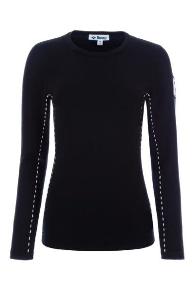 Meister Women's Piste Sweater - Black/Soft Pink, Small 2020-21 at Northern Ski Works