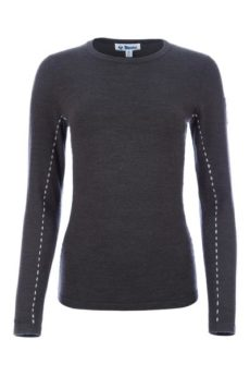 Meister Women's Piste Sweater - Charcoal/Pearl Gray, Small 2020-21 at Northern Ski Works