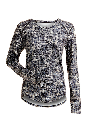 Nils Women's Abby Body Zone 1 Base Layer Top 2019-20 at Northern Ski Works