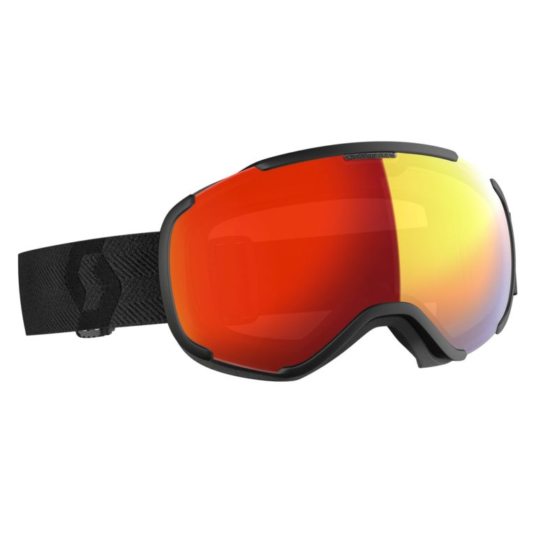 Scott Faze II Goggles - Black (Enhancer/Red Chrome) 2019-20 at Northern Ski Works
