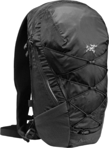Arcteryx Aerios 10 Backpack - Raven 2019-20 at Northern Ski Works