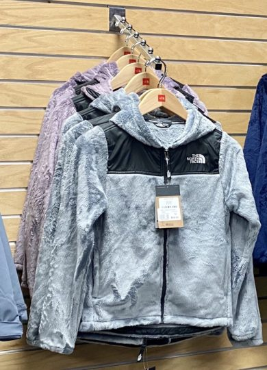 The North Face Girls Oso Hoodie 2020-21 at Northern Ski Works