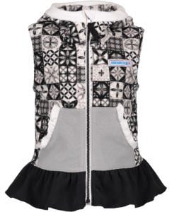 Obermeyer Kids Girls Mika Fleece Vest 2019-20 at Northern Ski Works
