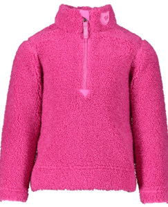 Obermeyer Kids Girls Superior Gear 1/4 Zip Top 2019-20 at Northern Ski Works