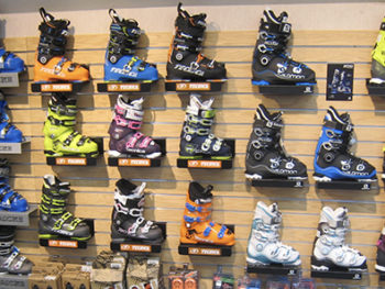 Northern Ski Works Ludlow/Okemo Boot Wall