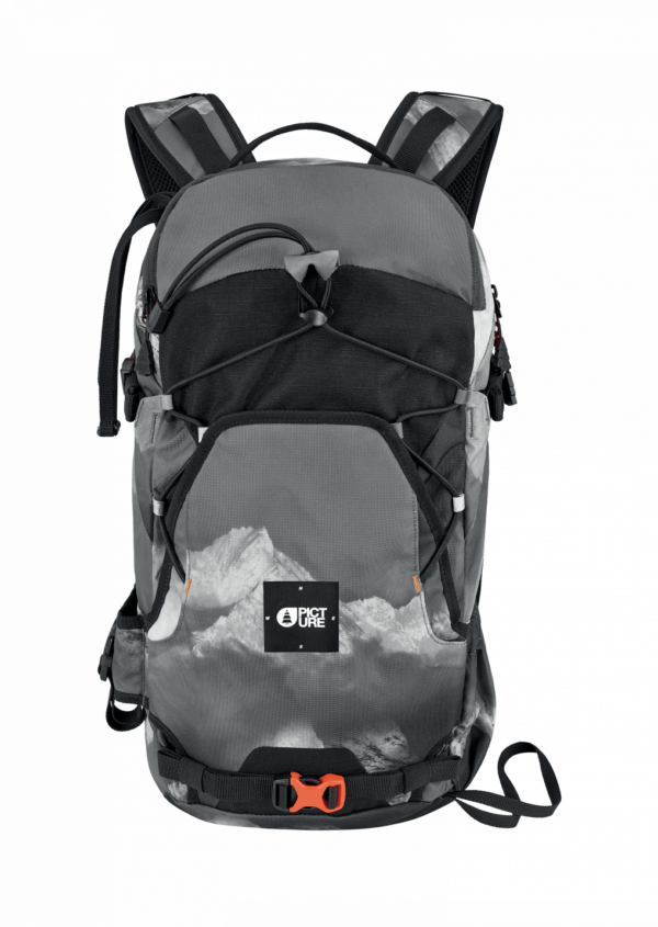 Picture Organic Clothing Sunny 18L Backpack - Black Arvais Print 2019-20 at Northern Ski Works