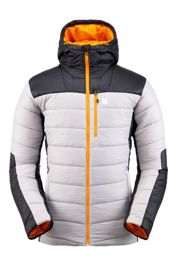 Spyder Men's Glissade Hoodie - Alloy, Small 2019-20 at Northern Ski Works