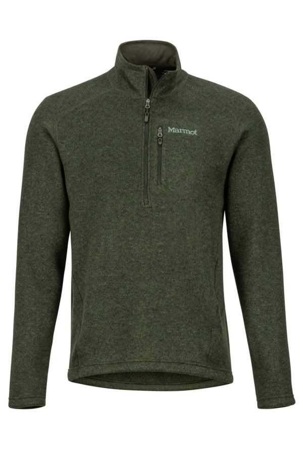 Marmot Men's Drop Line 1/2 Zip Fleece Top 2019-20 at Northern Ski Works