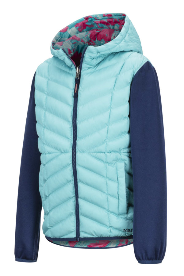 Marmot Girl's Featherless Rev Hoody 2019-20 at Northern Ski Works 1