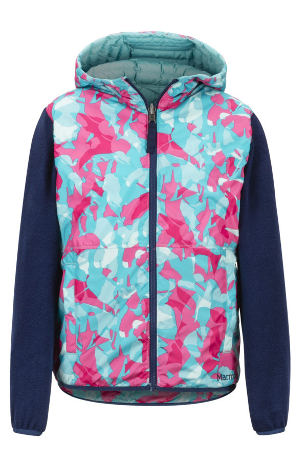 Marmot Girl's Featherless Rev Hoody 2019-20 at Northern Ski Works 4