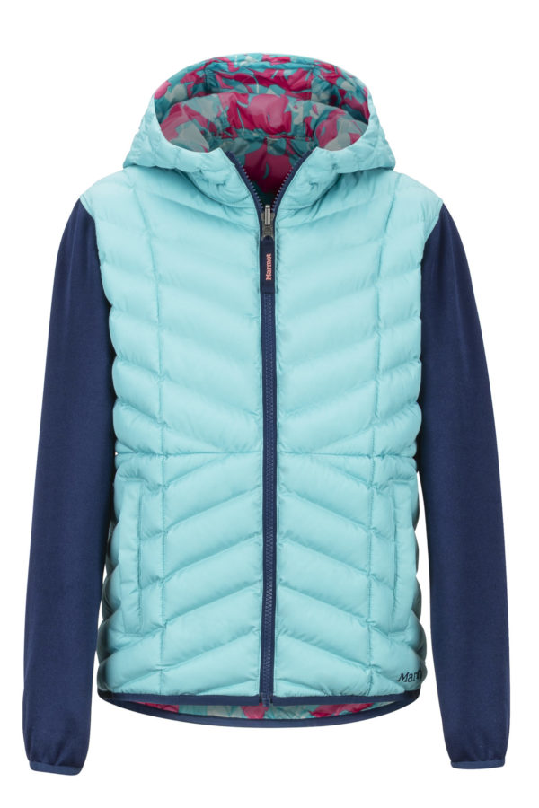 Marmot Girl's Featherless Rev Hoody 2019-20 at Northern Ski Works
