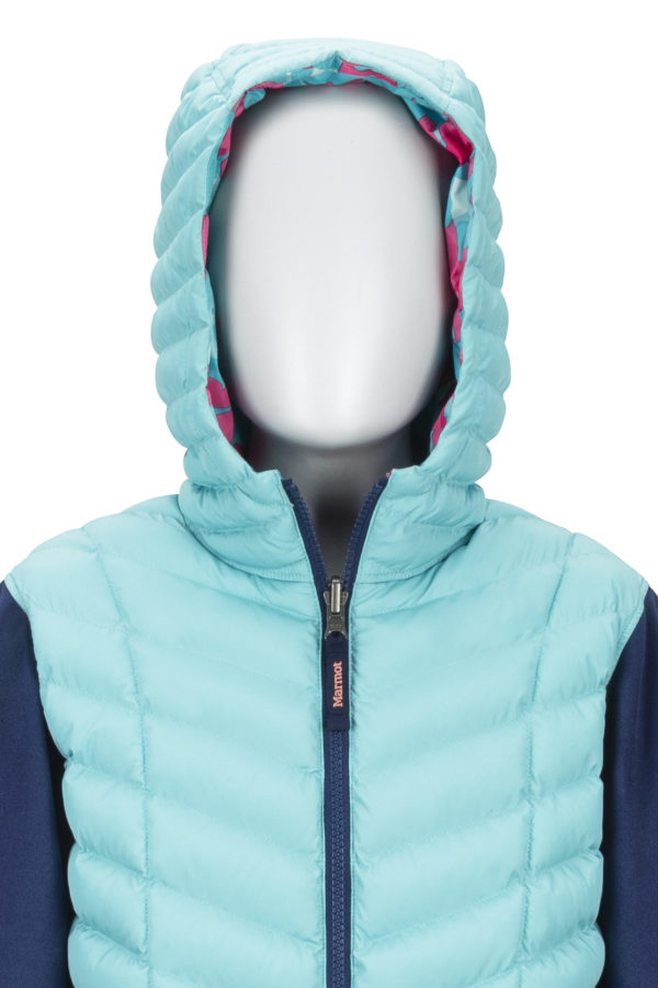 Marmot Girl's Featherless Rev Hoody 2019-20 at Northern Ski Works 6