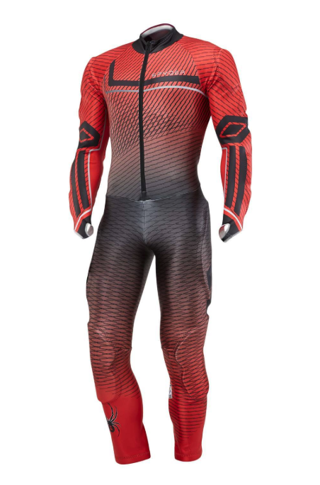 Spyder Boys Performance GS Speed Suit - Volcano, 14/16 2019-20 at Northern Ski Works