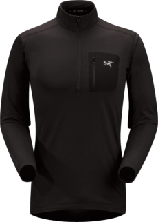 Arcteryx Men's Rho LT Zip Neck Top 2020-21 at Northern Ski Works