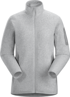 Arcteryx Women's Covert Cardigan - Athena Grey Heather, Small 2020-21 at Northern Ski Works