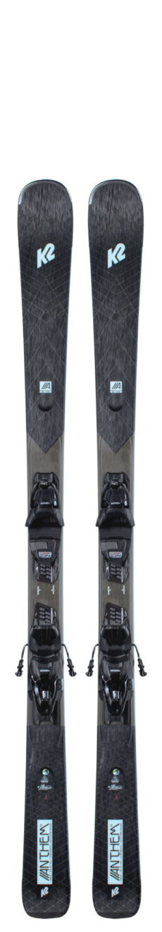 K2 Anthem 76 Skis + ERP 10 QuikClik Bindings 2021 2020-21 at Northern Ski Works
