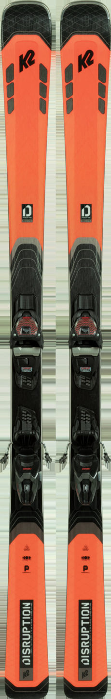 K2 Disruption 78C Skis + M3 10 Compact QuikClik Bindings 2021 2020-21 at Northern Ski Works
