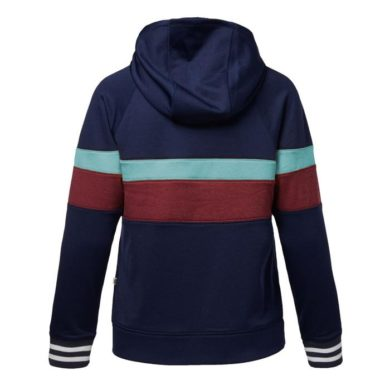 Cotopaxi Women's Bandera Hooded Full-Zip - Maritime Stripes, Small at Northern Ski Works