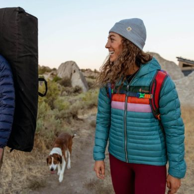 Cotopaxi Women's Fuego Down Hooded Jacket 2020-21 at Northern Ski Works 3